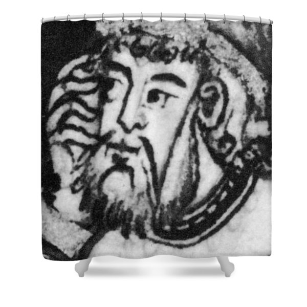 Bo�thius, Medieval Philosopher Shower Curtain