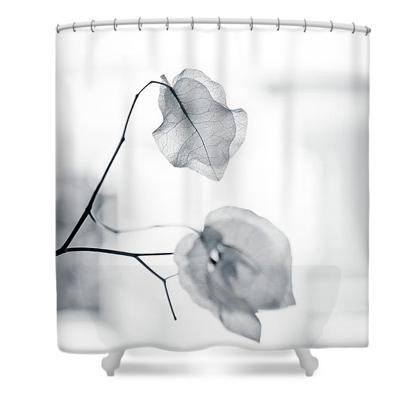 Bougainvillea - High-key Lighting Shower Curtain