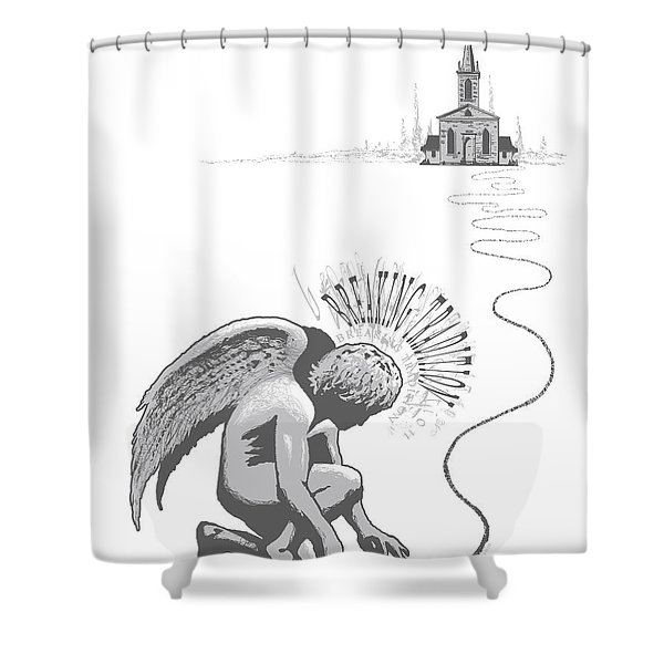 Breaking Tradition Shower Curtain
