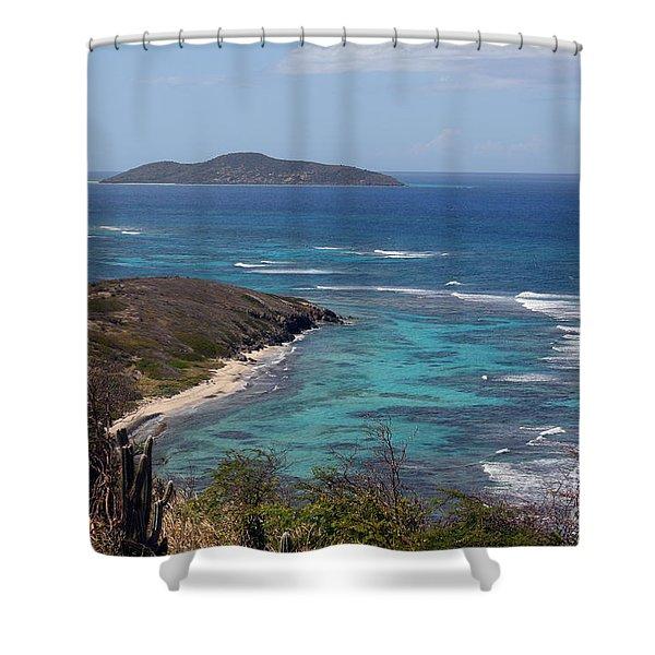 Buck Island Usvi Shower Curtain