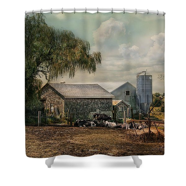 Bucolic Bliss Shower Curtain