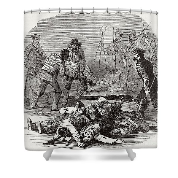 Burying The Dead After John Browns Shower Curtain