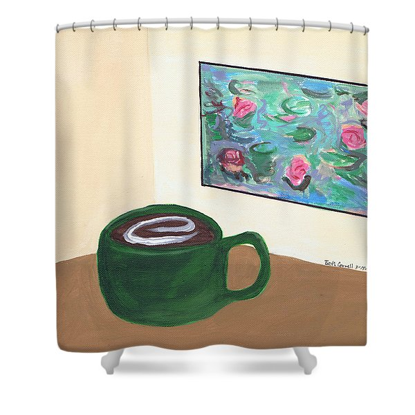 Cafe Monet Shower Curtain