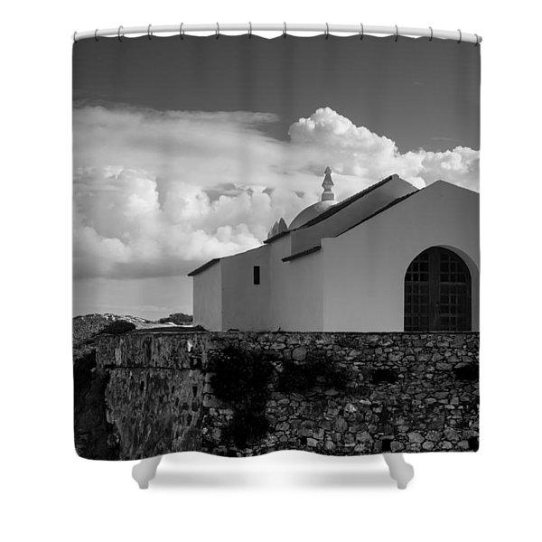 Capela Do Baleal Shower Curtain