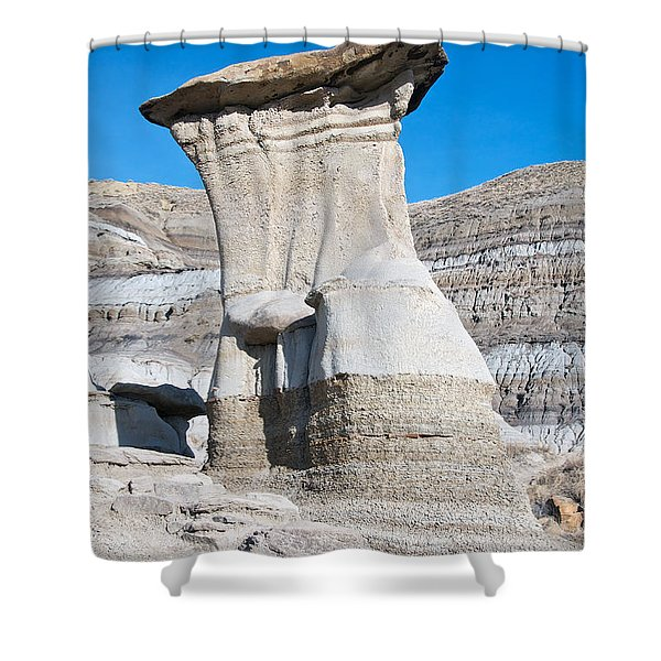 Capped Hoodoo Shower Curtain