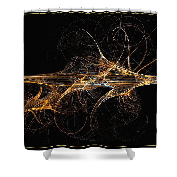 Celebration Of Impulses - Abstract Art Shower Curtain