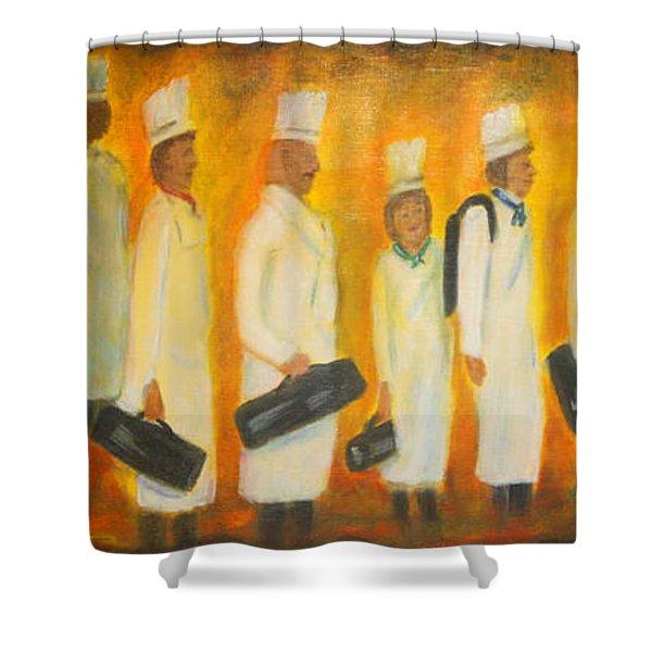 Chef School Shower Curtain