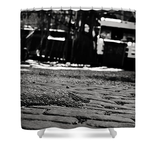 Chicago Cobblestone Shower Curtain