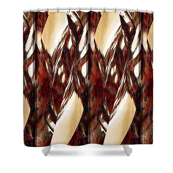 Chorus Line Shower Curtain