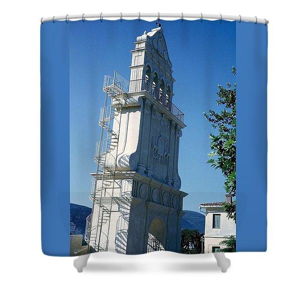 Church Bells Shower Curtain