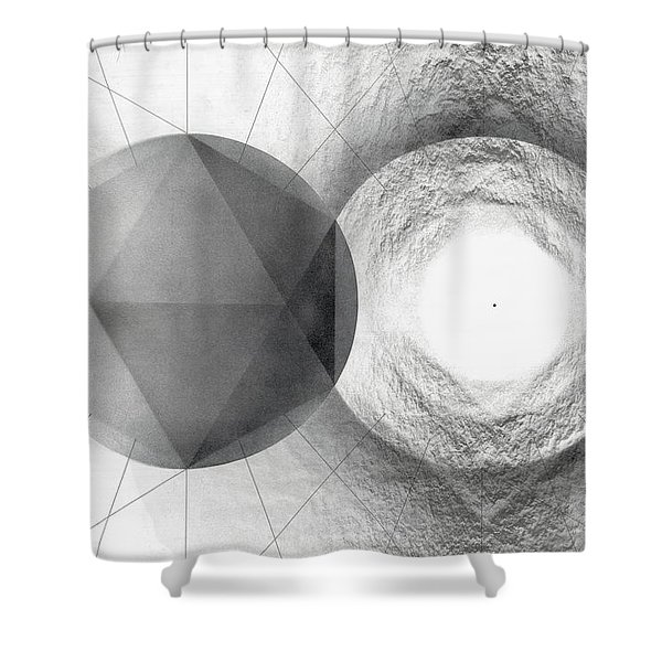 Circle Potential Shower Curtain