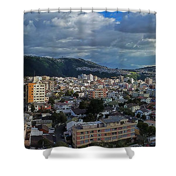 Close Of Business - Quito - Ecuador Shower Curtain