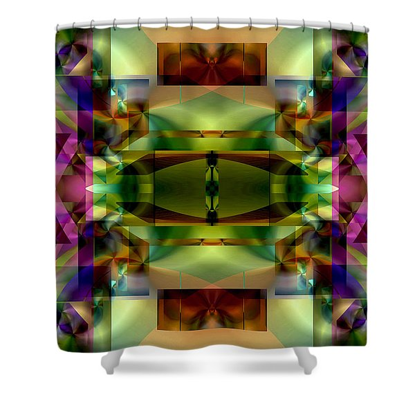 Color Genesis 1 Shower Curtain