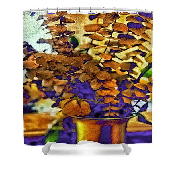 Colored Memories Shower Curtain