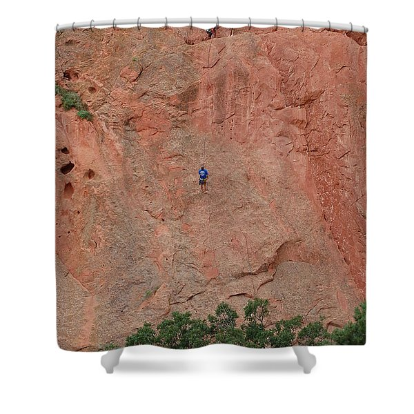 Coming Down The Mountain Shower Curtain