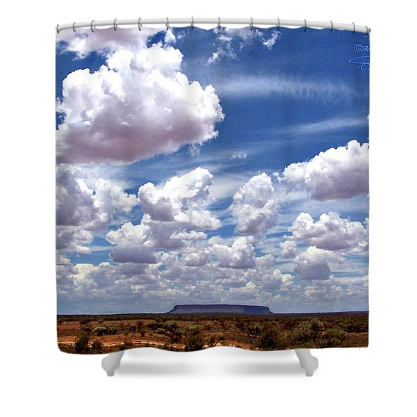 Conner's Rock Shower Curtain