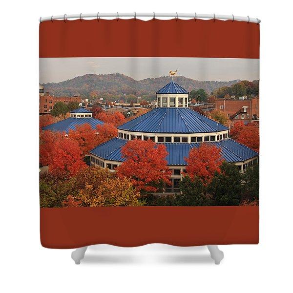 Coolidge Park Carousel Shower Curtain