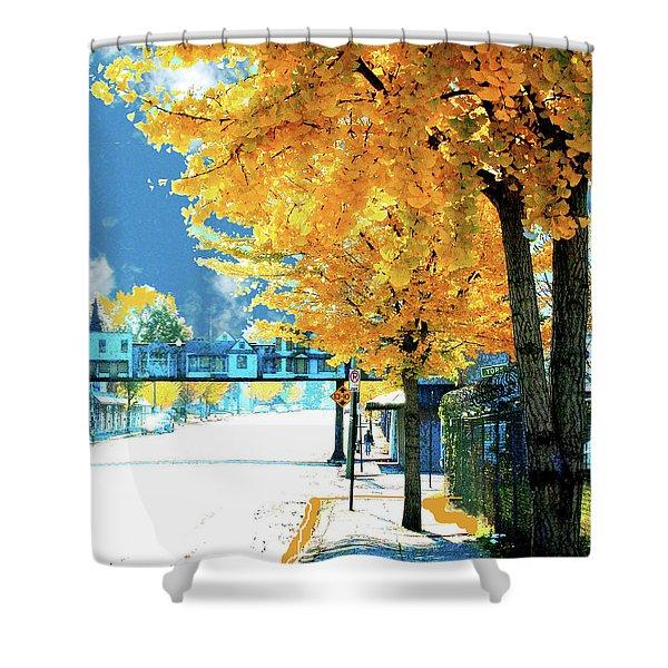 Cooper Street Memphis Shower Curtain