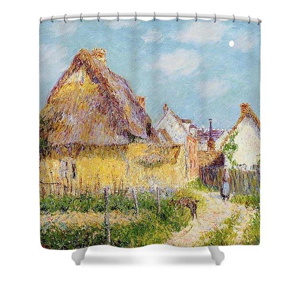Cottage At Le Vaudreuil Shower Curtain