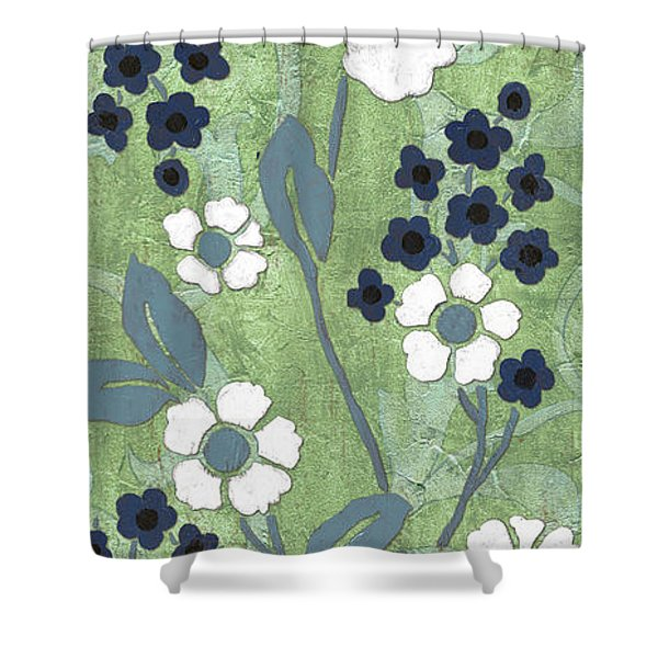 Country Spa Floral 1 Shower Curtain