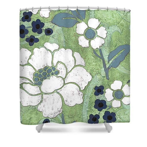 Country Spa Floral 2 Shower Curtain