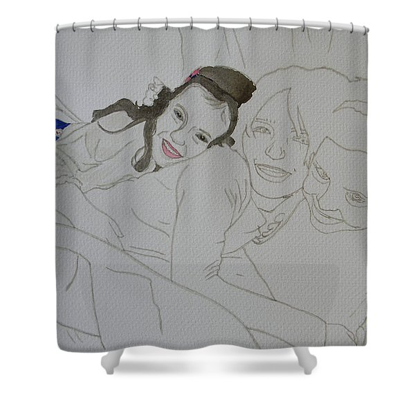 Cousins 3 Of 3 Shower Curtain