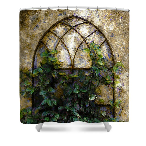 Creeping Vine 1 Shower Curtain
