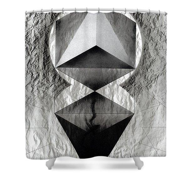 Crucible Shower Curtain