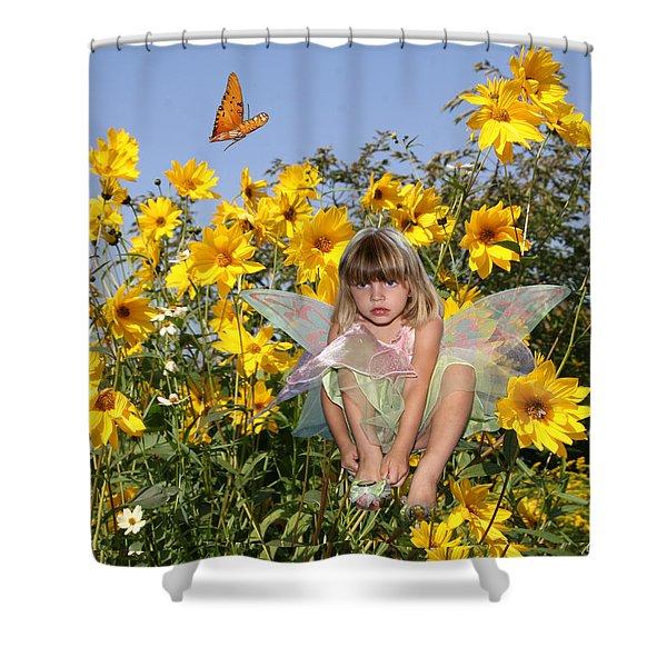 Daisy Faery Shower Curtain
