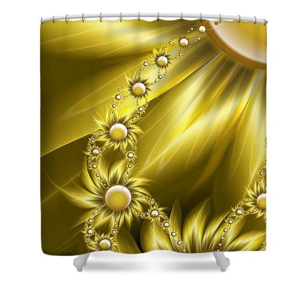Daisy Sunshine Shower Curtain