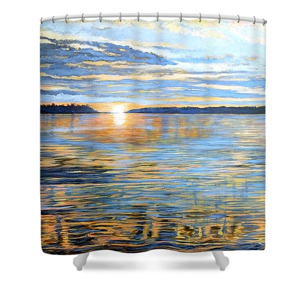 Davidson Quebec Shower Curtain