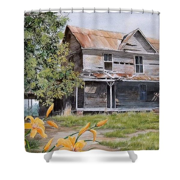 Days Gone By...sold Shower Curtain