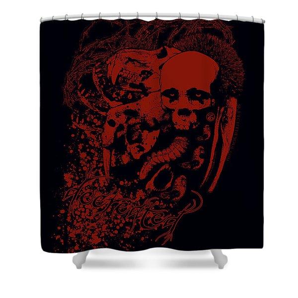 Decreation Shower Curtain
