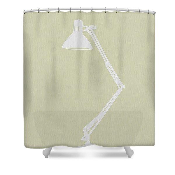 Desk Lamp Shower Curtain