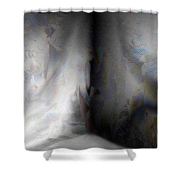 Desolate Shower Curtain