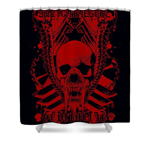 Devitalized Shower Curtain