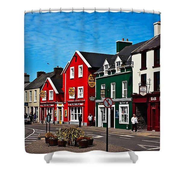 Dingle Bay Color Shower Curtain