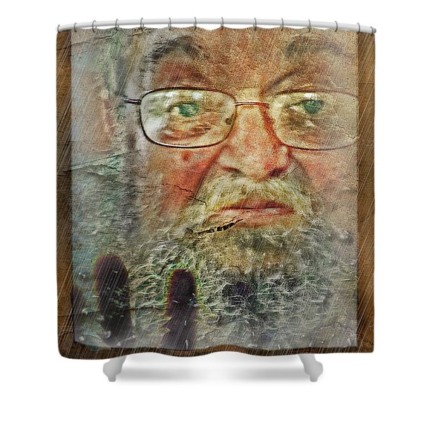 Don't You See Me?  I'm Here. .  Shower Curtain