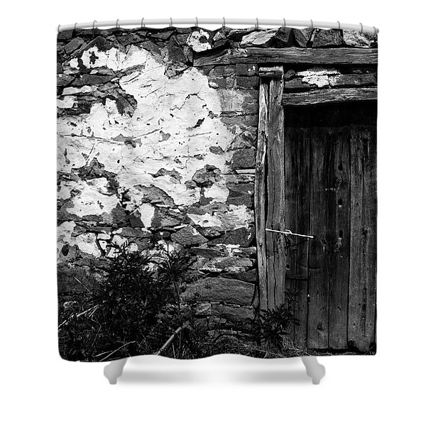 Door  Window And The Wall  Shower Curtain