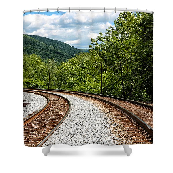 Double Blind Shower Curtain