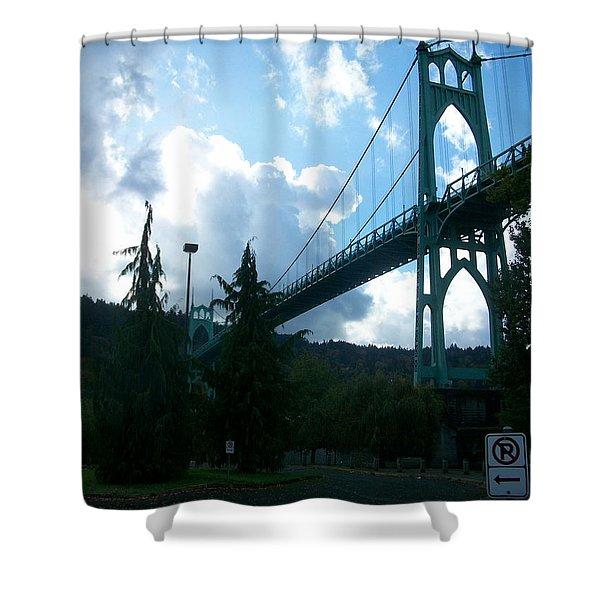 Dramatic St. Johns Shower Curtain