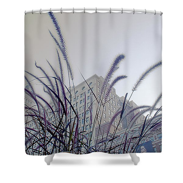 Dreamy City Shower Curtain