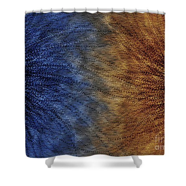 Duality Motif Shower Curtain