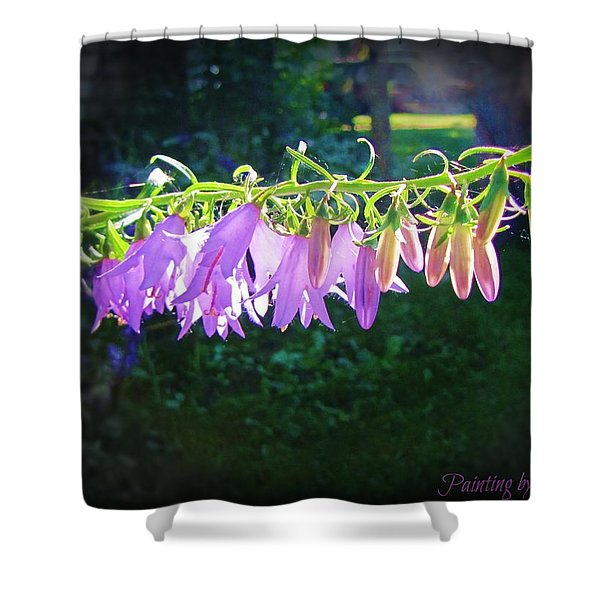 Early Morning Touch Shower Curtain