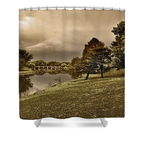 Eery Day Shower Curtain