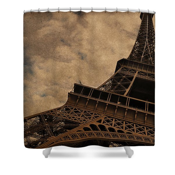 Eiffel Tower 2 Shower Curtain