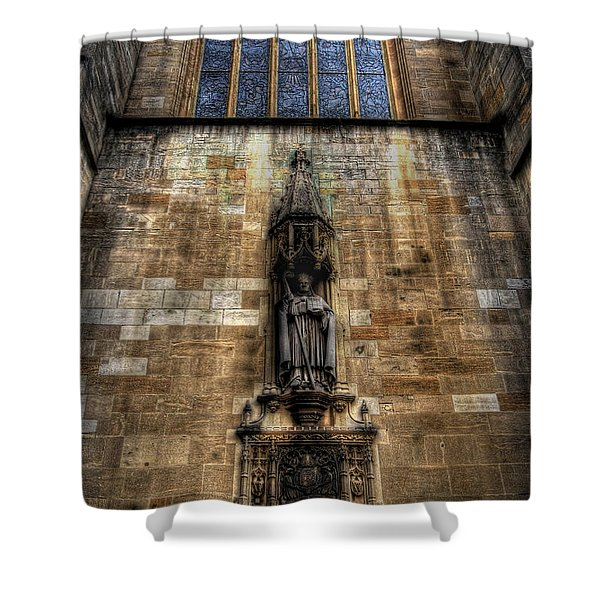 Eton College Chapel Shower Curtain