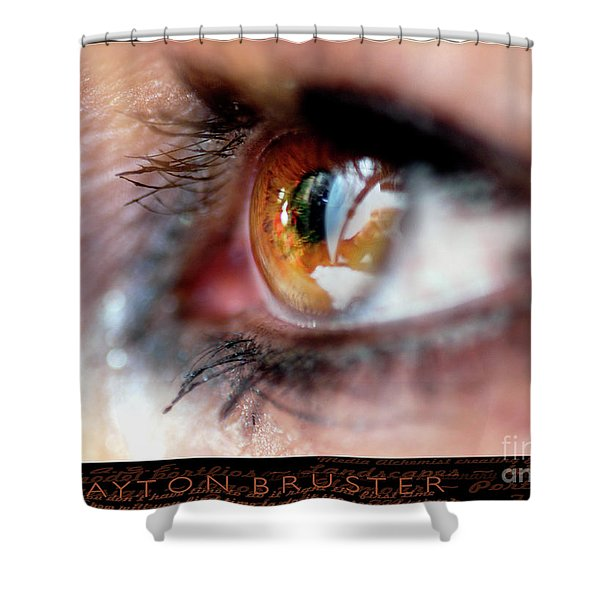 Eye Don't Know Shower Curtain