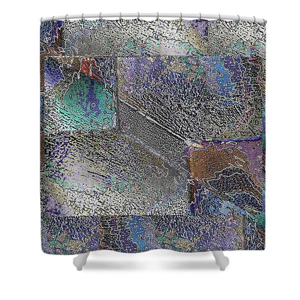 Facade 10 Shower Curtain