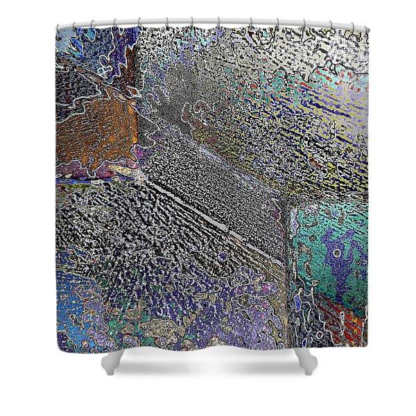 Facade 11 Shower Curtain